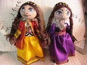 Туркменские куклы,  Сувенир,  ручная работа