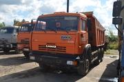 Самосвал КАМАЗ 65115 с пробегом