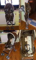 Срочно продам удобную прогулочную коляску фирмы Happy Dino.