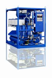 Осветление темного печного и дизельного топлива на установке УВР-450С