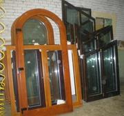 Окна деревянные , Оконные блоки (Стеклопакеты )  под Ваш заказ.