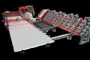 Автоматическая сварочная линия для сварки сетки из 2-х бухт TJK HWWZD