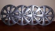 Новый комплект заводских колпаков на колёса toyota corolla 1 8 xli