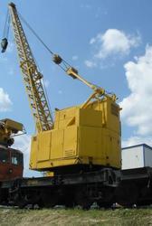Кран железнодорожный КЖС-16 (16 тонн)