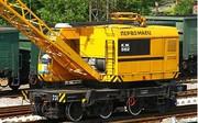 Кран железнодорожный КЖ-562 (25 тонн)